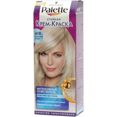Палет краска для волос жемчужный блондин