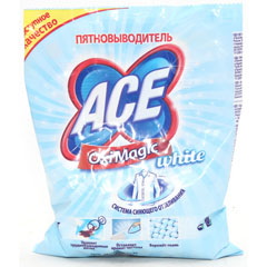 "Пятновыводитель ""ACE OXI MAGIC"" white 200 гр.(26)"